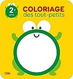 Coloriage des tout-petits: La grenouille - 2 ans