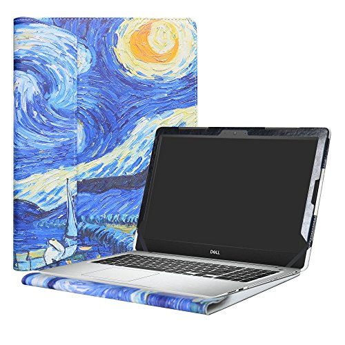 Alapmk Protective Case Cover For 15.6' Dell Inspiron 15 5570 5575 5566 5555 5559 5558 5557 Laptop(Warning:Not fit model 5578 5568 5579),Starry Night