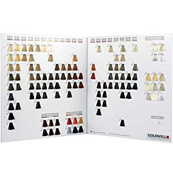 Amazon com goldwell topchic colour chart health personal care