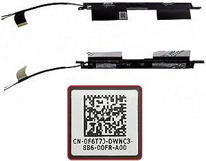 Todiys New WiFi Wireless Antennas Touchscreen for Dell Inspiron 15 15M 5542 5543 5545 5547 5548 P39F F6T7J 0F6T7J CN-0F6T7J DC33001IK0L DC33001IJ0L DC33001II0L 0C1109