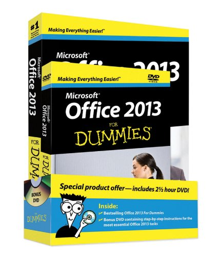 Office 2013 For Dummies, Book + DVD Bundle (Microsoft Office Outlook 2013 Tips And Tricks)