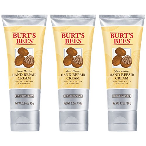 Burt's Bees Shea Butter Hand Repair Cream - 3.2 Ounce Tube (Pack of ()