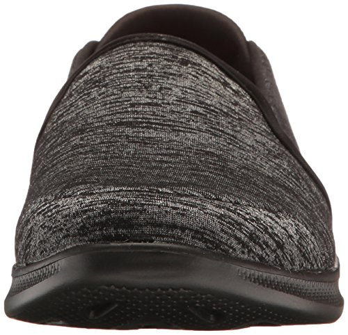 Go Skechers Walking Lite Shoe 14462 Performance Womens Black Step Gray qr1wYIwEx