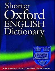 New Shorter Oxford English Dictionnary