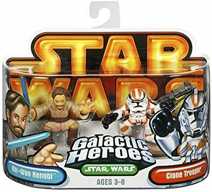 Playskool Star Wars Galactic Heroes Clone Wars Commander Cody Action Figure