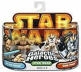 : Star Wars Galactic Hero Obi-Wan Kenobi & Clone Trooper