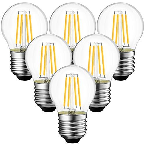 ANWIO 4,5 W E27 gloeidraad LED Edison lamp G45, 2700 K warm wit, vervanging voor 40W gloeilamp, ultra helder 470 lm…