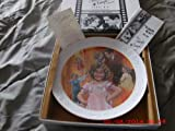 """Nostalgia Collectibles the Shirley Temple Collection - """"Curly Top"""" Autographed Plate Number 2059"""