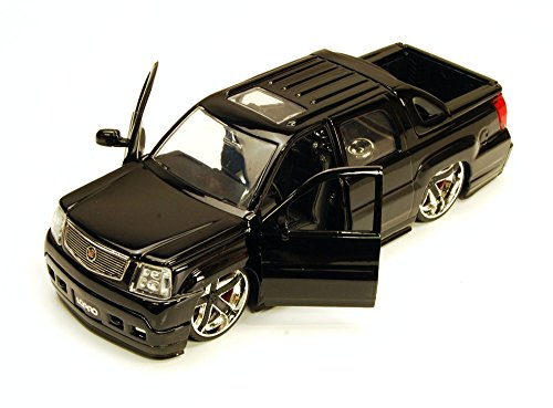 Cadillac Escalade Ext Pickup Truck, Black - Jada Toys LoPro 96603 - 1/24 scale Diecast Model Toy Car