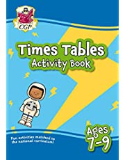 New Times Tables Activity Book for Ages 7-9: Perfect for Catch-Up and Home Learning