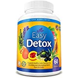 Body Detox Cleanse Pills With Acai Berry and Psyllium Husk For Women And Men. Metabolism Boost & Weight Loss. Natural and Organic Dietary Supplement For Digestive Detox. 100% Money Back Guarantee!