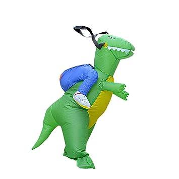 Amazon.com: AUNMAS - Vestido hinchable de dinosaurio, con ...