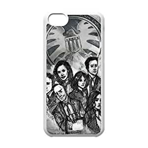 Iphone 5C 2D Customized Phone Back Case with Agents of Shield Image
