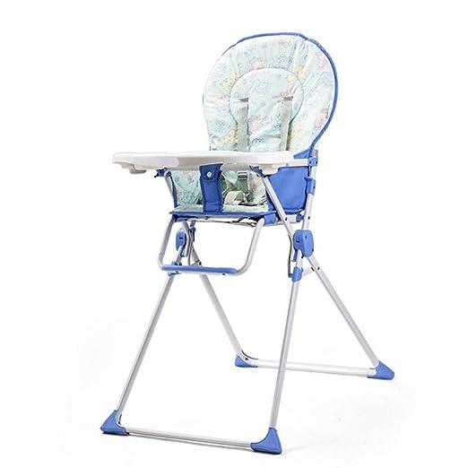 Silla de comedor plegable, simple, para bebés, portátil ...
