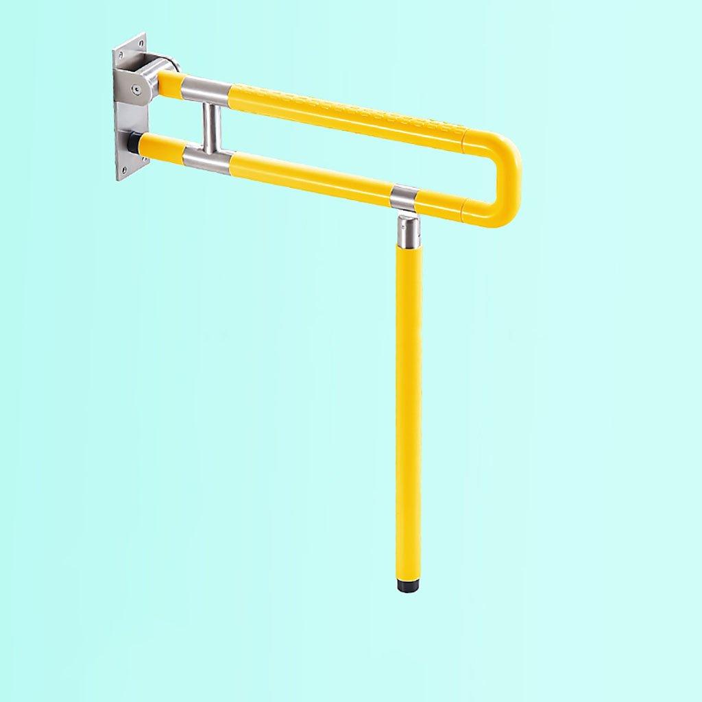 アームレストステンレススチールフォールド高齢者、障害者ノンスリップアクセシビリティセーフティレイジングバスタブ、シャワー、トイレ、クローゼット、トイレ、ハンドル (色 : 2, サイズ さいず : 60 cm 60 cm) B07DGMLQL1 60 cm 60 cm|2 2 60 cm 60 cm