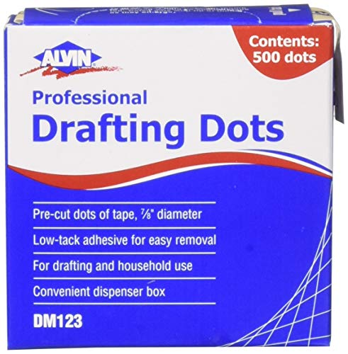 Alvin 500 Drafting Dots, 7/8 (2 Pack)