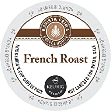 Barista Prima Coffeehouse Dark French Roast K-Cup for Keurig Brewers, 24-Count