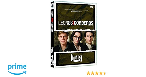 Leones por corderos [DVD]: Amazon.es: Tom Cruise, Meryl Streep, Robert Redford, William Mapother, Michael Peña, Peter Berg: Cine y Series TV