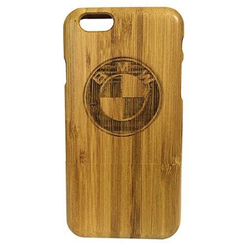 Iphone 6s cas, sculpture Patterns BMW Case Bambou pour Iphone6s, Iphone6s cas, cas Iphone6s, la couverture de peau Bamboo conception dure Retour naturel pour Iphone6s Case Bambou