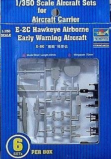 Trumpeter 1/350 E2C Hawkeye Aircraft Set for USS Nimitz (6-Box)