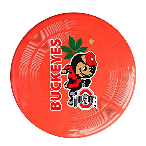 LnEir Outdoor Game Frisbee Ohio State University Flying Discs Red
