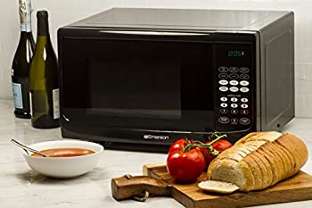 Emerson Mw9255b, 0.9 Cu. Ft. 900 Watt, Touch Control, Black Microwave Oven 4