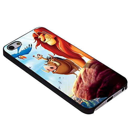 Disney lion king movie poster For iPhone Case (iPhone 6 plus black)