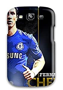 Premium Durable Fernando Torres Chelsea Fc Fashion Tpu Galaxy S3 Protective Case Cover