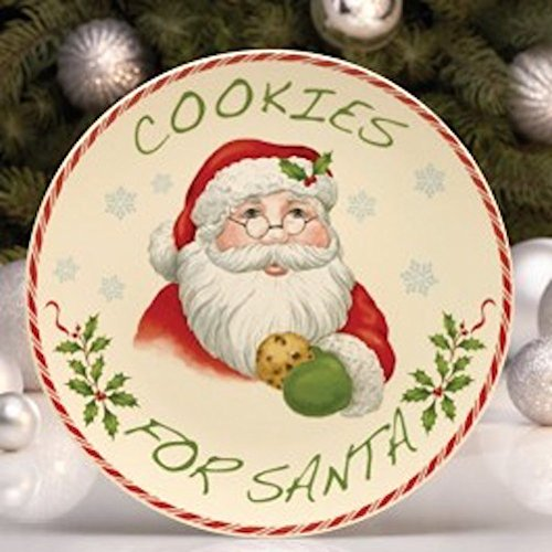 Lenox Holiday Cookies for Santa Plate