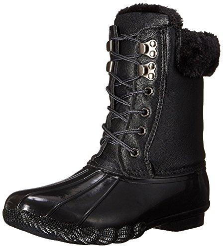 Steve Madden Fur Boots - Steve Madden Women's Tstorm Winter Boot, Black Multi, 9 M US