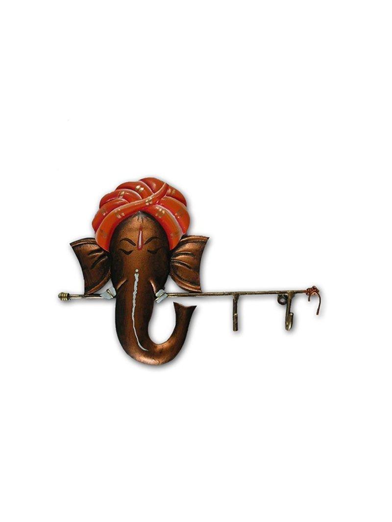 Karigaari India Wrought Iron Ganesha Key Holder by Karigaari India (Image #1)
