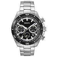 BULOVA Stainless Steel Men's Chronograph Watch 98B298