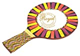 Wooden Hand Decor Mirror Marbal Work Premium Quality and Finest Material used Size 21X13 Cm Royal Craft Enterprises