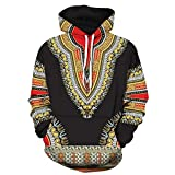Colmkley Men & Women Couple African 3D Print Hoodies Autumn Winter Sweatshirt