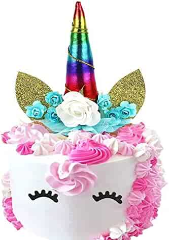 6.8x5.8inch Mouth//Tropical Hawaiian Aloha Luau Themed Party Cake Decoration Supplies for Birthday Wedding Baby Shower Palksky Glitter Big Pineapple Cake Topper Set With Eyes Dimple
