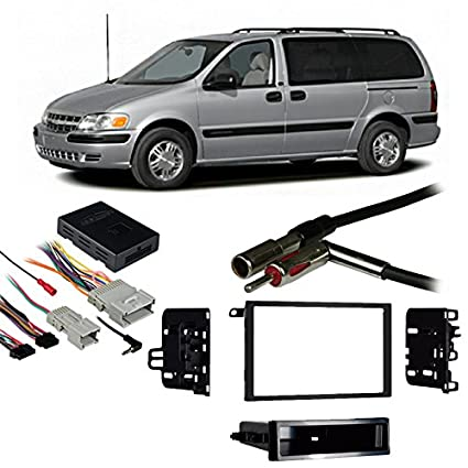 amazon com fits chevy venture van 00 05 double din stereo harness rh amazon com