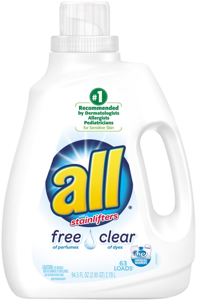 All Free Clear Laundry Detergent, 94.5 Ounce by all B00UMTY4HO