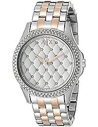 Armani Exchange Women's AX5249 Lady Hampton Analog Display Analog Quartz Silver Watch