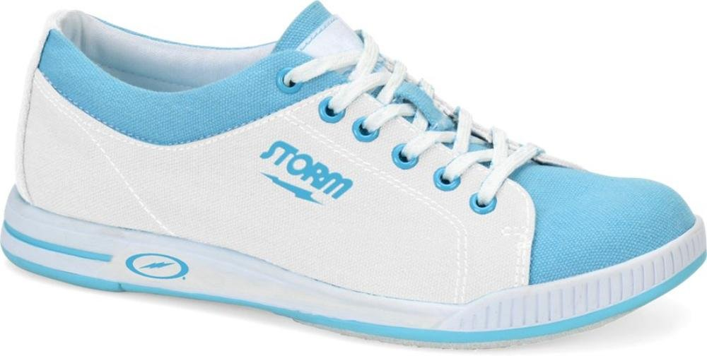Storm Meadow Bowling Shoes, White/Blue, 7.5