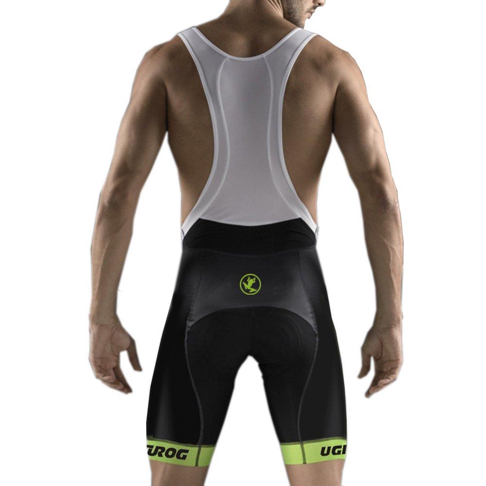 Uglyfrog Modo Sport Fuera De Suave Del Paño de BIB Pantalones Cortos