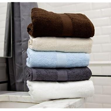 Magnolia Organics Towels - Bath Towel, Blue Mist