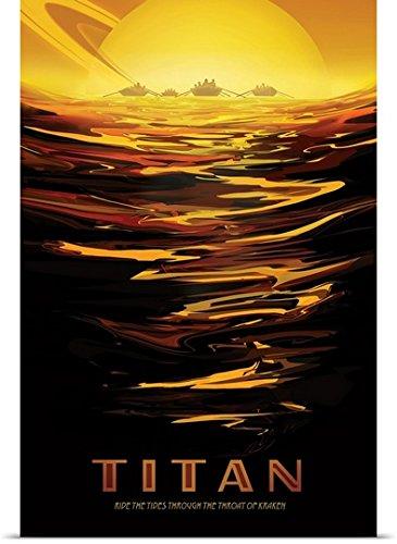 poster saturn and titan