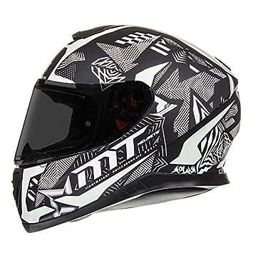 100c8727f MT Thunder 3 SV Fractal Motorbike Motorcycle FULL FACE DVS HELMET Matt Black/Gun/Silver  XL(61-62cm): Amazon.co.uk: Car & Motorbike
