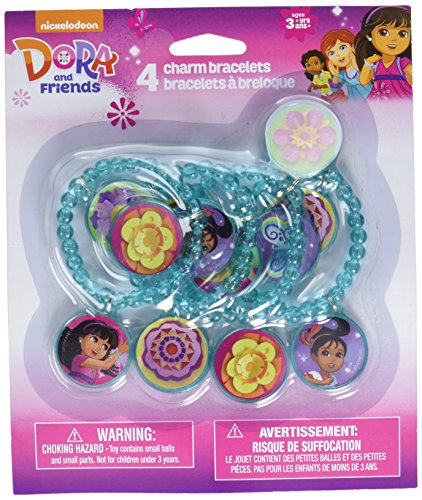 Amscan Dora and Friends Charm Bracelet Favors