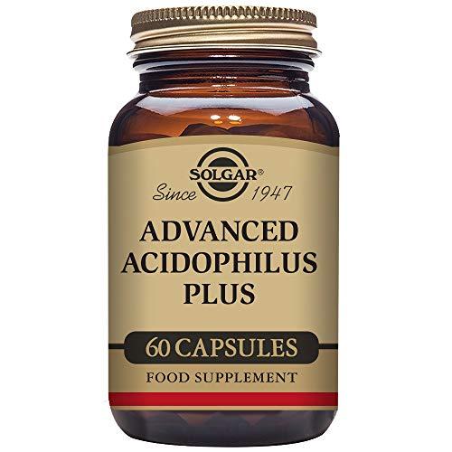 Solgar – Advanced Acidophilus Plus, 60 Vegetable Capsules