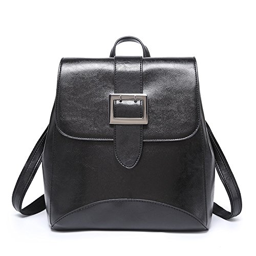 Shishanyun Design Pelle Nuovo Cera Black Shoulder Da Size M Donna Moda Diagonale Zaino Borse Olio Wild In Red Ad color Single Multifunzionale Fashion 48rwx8