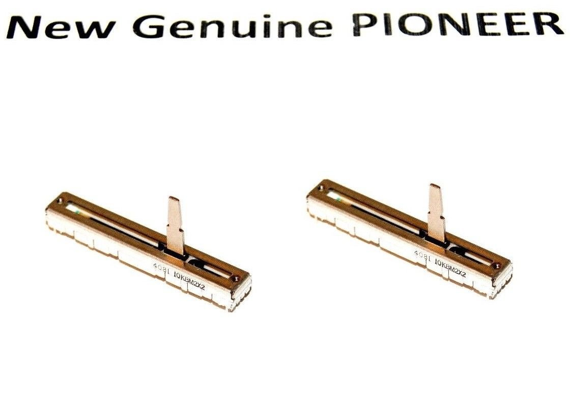 2x New Genuine Pioneer Channel Fader Variable Resistor Tempo 418-DDJLE-691 For DDJ-WEGO PIONEER_SERVICE_PARTS