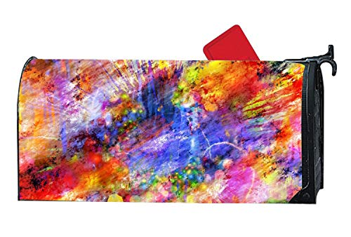 - Verna Christopher Colorful Magnetic Mailbox Cover