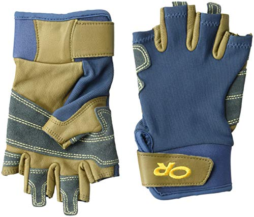 Outdoor Research Fossil Rock Gloves, Dusk/Coyote, X-Small