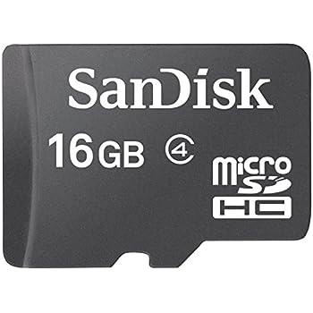 Sandisk Ultra MICROSDHC 16GB 80MB/S Flash Memory Card (SDSQUNC-AN6MA)